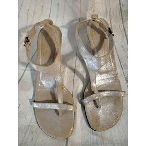Donald Pliner Viana Bronze Sandals SZ 9.5